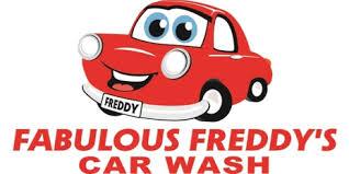 fabulous freddys car wash logo
